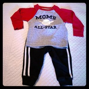 2 pc boys outfit (12-18M)